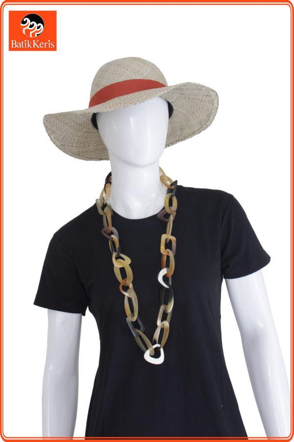 kalung tanduk pw02 batik keris