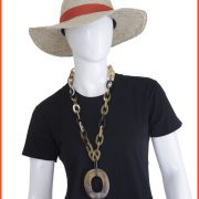 kalung tanduk pw05 batik keris
