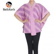 blouse kelelawar batik keris motif parang liris