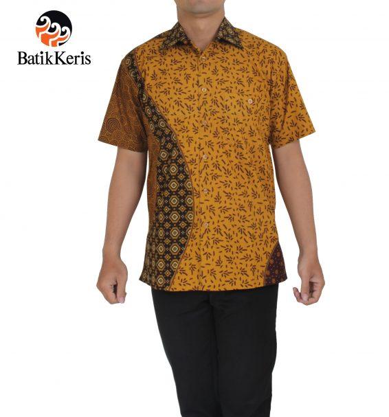hem santai batik keris motif lengkung nusantara