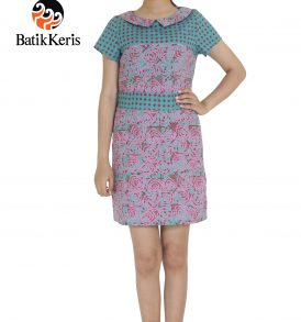 sackdress abstrak ukel gedegan kombinasi prisma batik keris