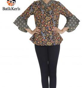 blouse batik keris telung kahuripan
