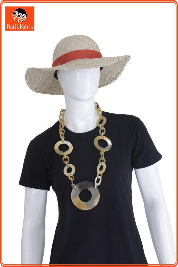 kalung tanduk pw15 batik keris