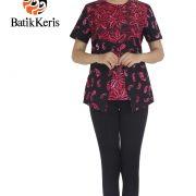 blouse ron gedegan kombinasi paisley