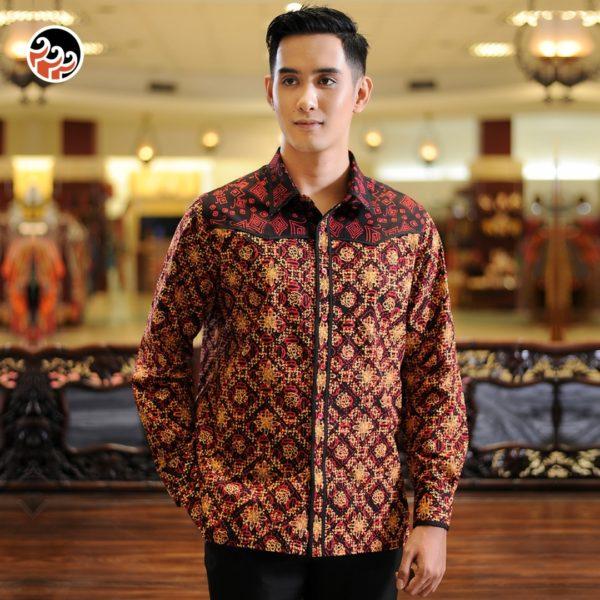 slimfit batik keris motif ceplok rinenggo