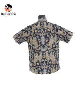 hem anak batik keris motif sawung galing kombinasi satata