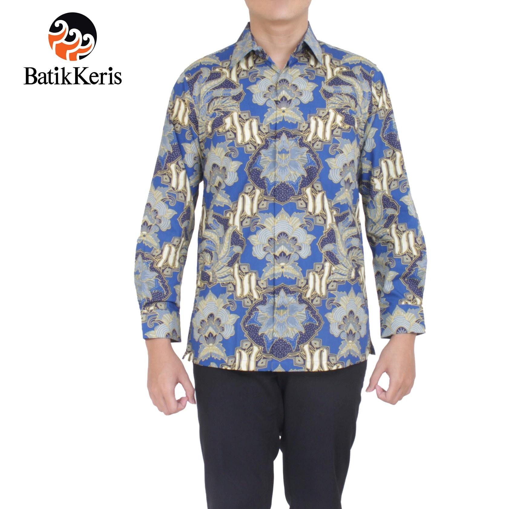 Kemeja Formal Lengan Panjang Archives  Batik Keris Online
