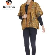 outer batik keris motif bayu ponco kombinasi sogan