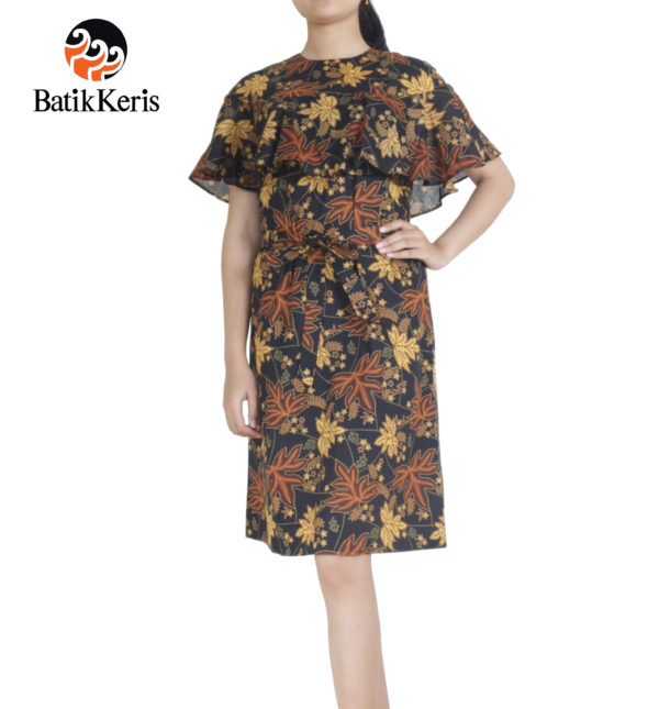 dress batik keris motif ron kinasih