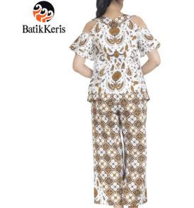blouse celana motif peksi mukti kombinasi kawung pangestu