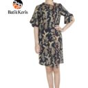 dress batik keris motif puspo sumulur