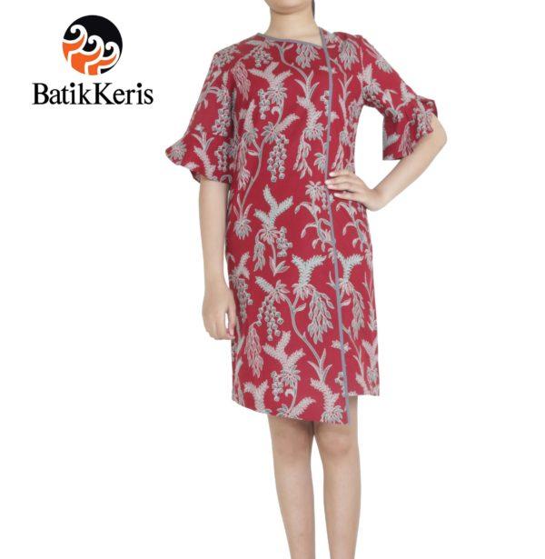 dress batik keris motif puspo sumulur