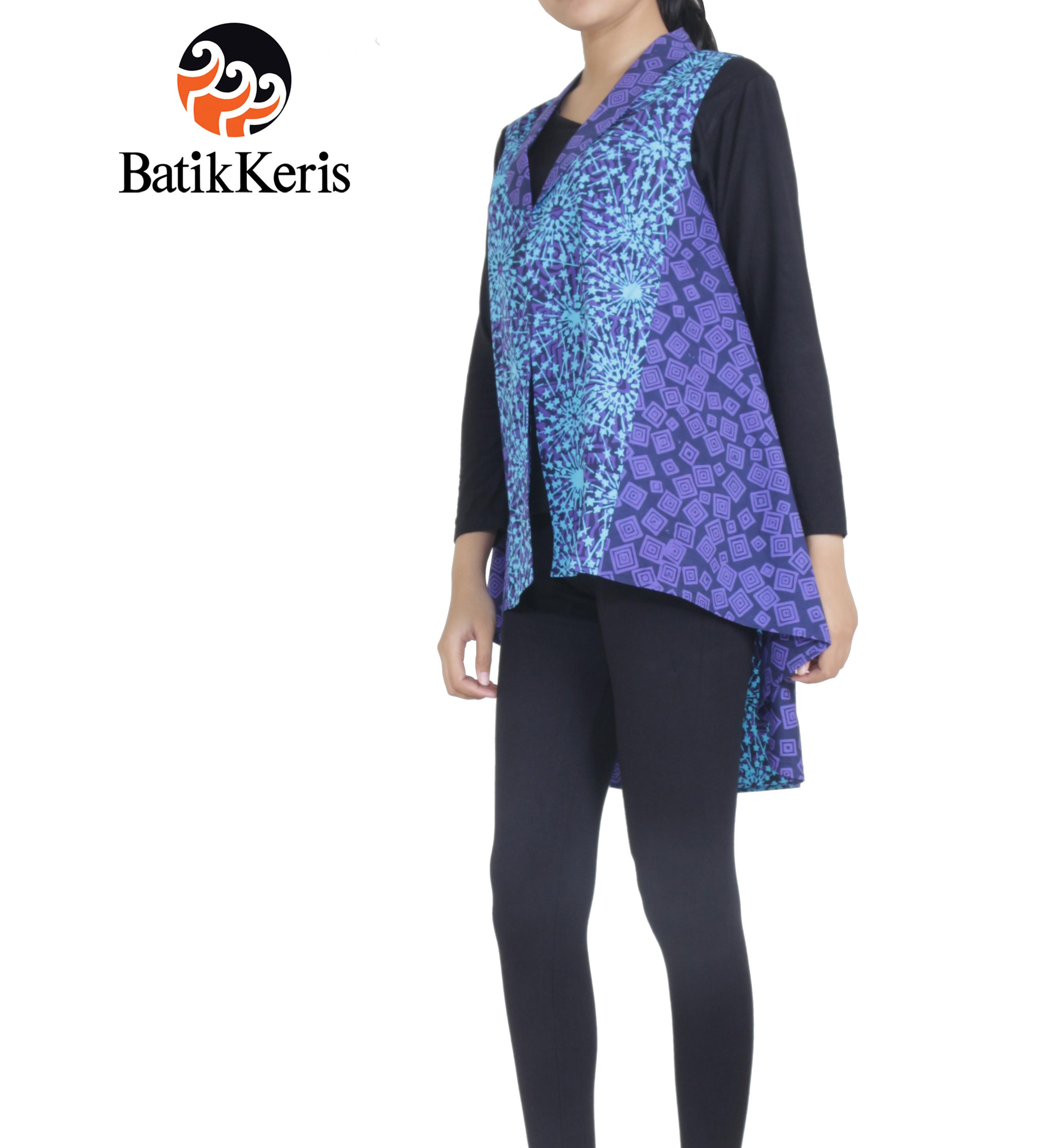 Batik Keris Solo 2017: OUTER BATIK MOTIF KEMBANG API KOMBINASI