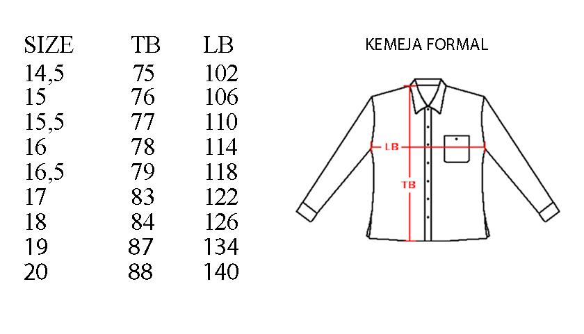 Kemeja Batik Formal Lengan Panjang Motif Nawang Asih Kombinasi Galaran