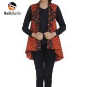 outer batik motif ceplok bintang kombinasi