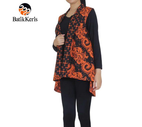 outer batik motif lereng kombinasi