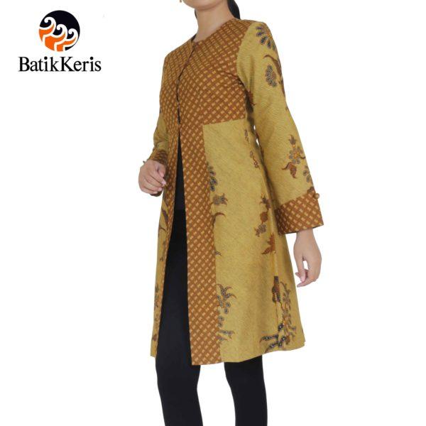 Batik Keris Solo 2017: OUTER BATIK LENGAN PANJANG MOTIF LAR CONDROWINOTO