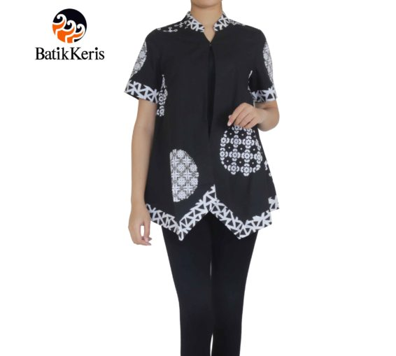 outer batik motif sekar bawono
