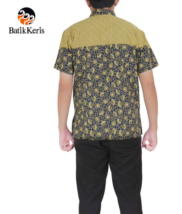 hem santai batik keris motif cipto asih kombinasi gedekan