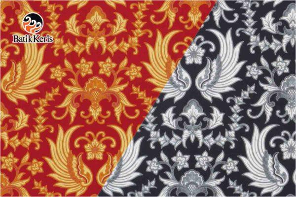 bahan batik motif gurdo kembar