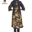 outer batik lengan 3/4 motif condro kirono kombinasi truntum