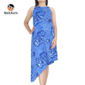 dress bali batik keris motif abra kartika