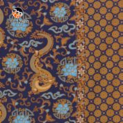 bahan batik motif naga wijaya kombinasi suminar