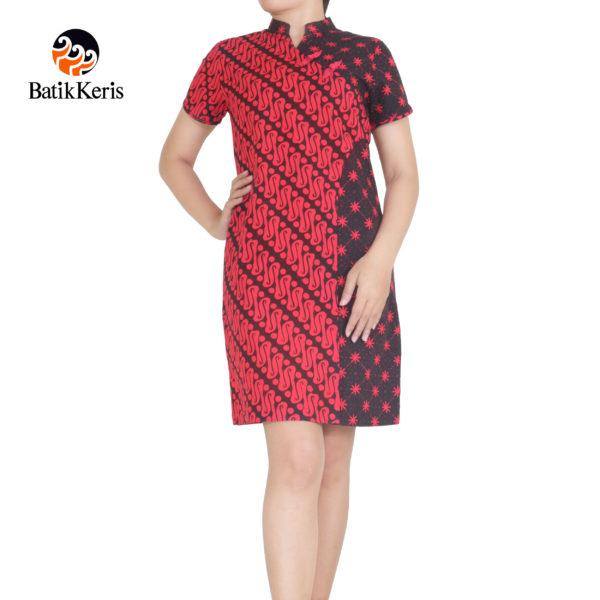 sackdress batik keris motif parang kombinasi