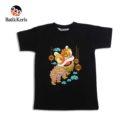 t-shirt anak batik keris motif barongsai
