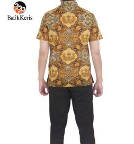 hem santai batik keris motif nuswantoro manunggal