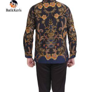 kemeja batik lengan panjang motif ron asmoro