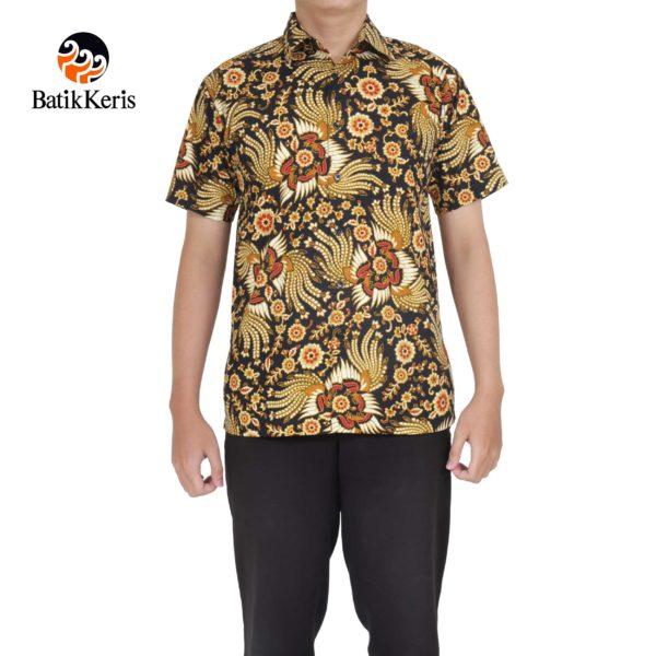 hem santai batik keris motif kukilo selaras