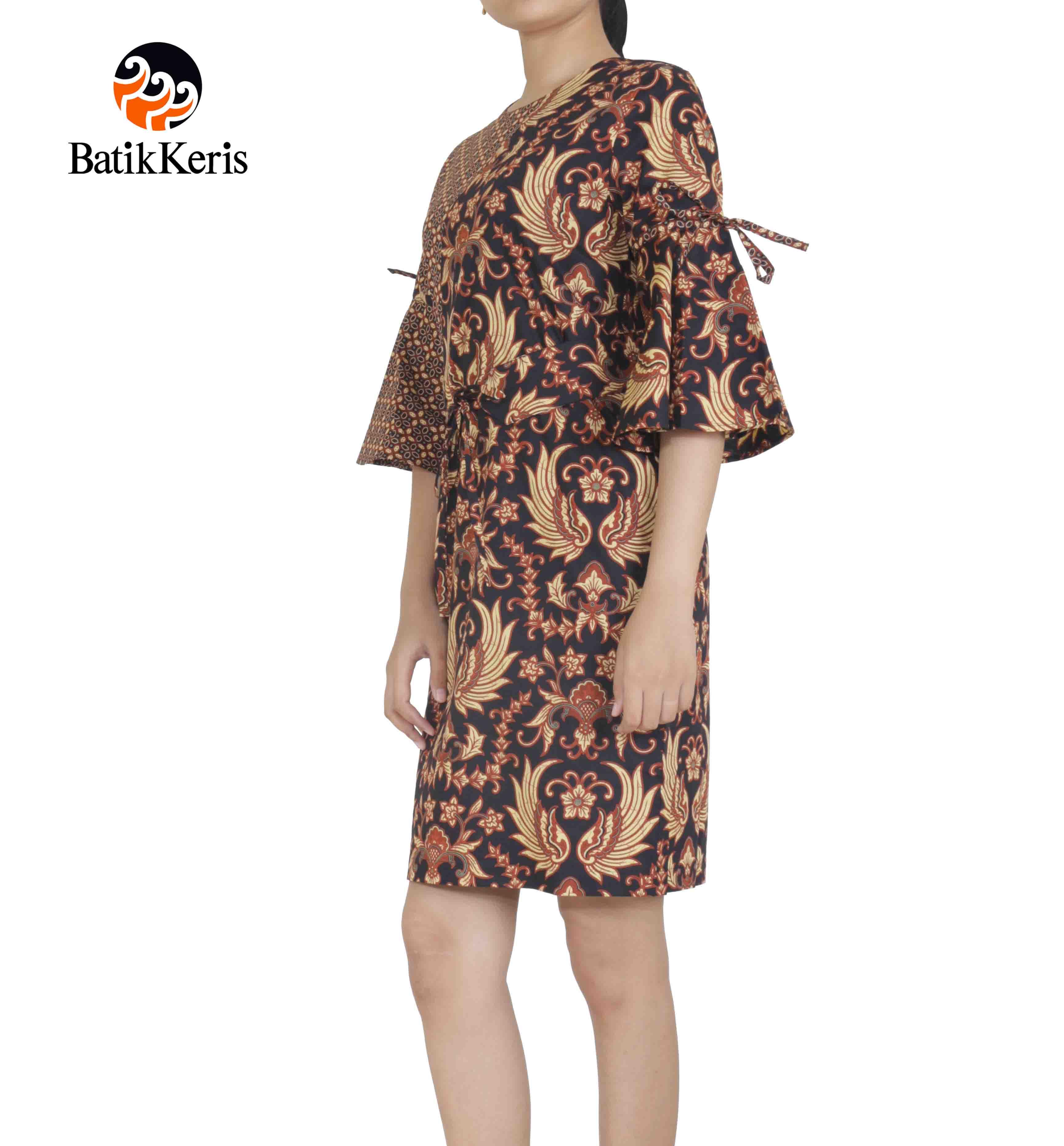 Batik Keris Online » SACKDRESS LENGAN 3 4 MOTIF GURDO KEMBAR ... be516305ab