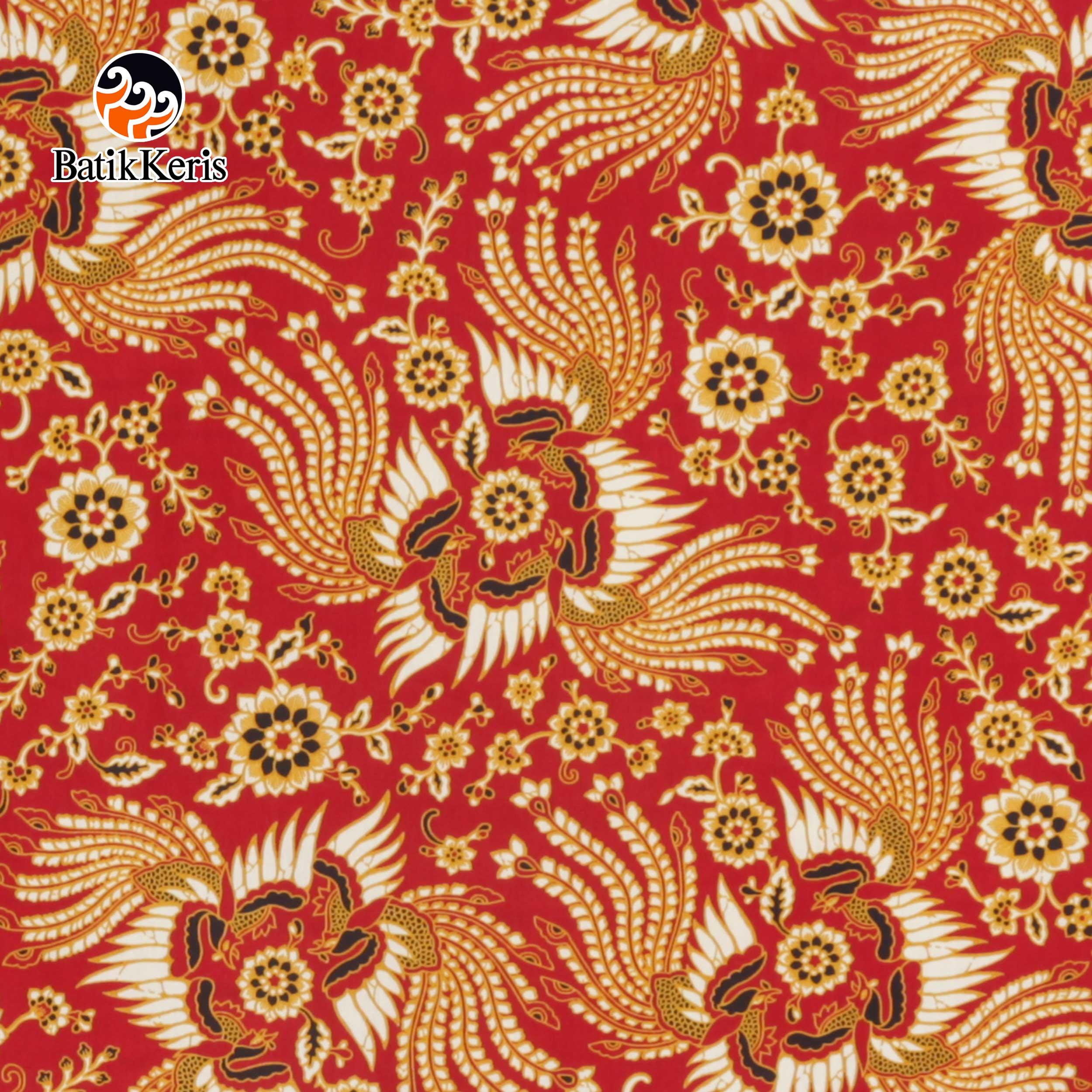 Batik Keris Online Bahan Batik Motif Kukilo Selaras