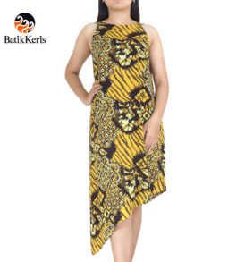 dress bali batik keris motif abra kartika