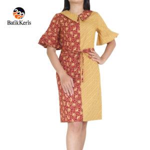 sackdress batik keris motif cipto asih kembinasi gedekan