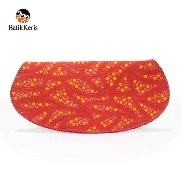 dompet alas gelas batik printing isi 6