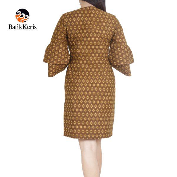 sackdress batik keris motif bayu panca kombinasi purno aji