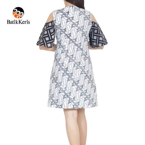 sackdress batik keris motif parang cengger kombinasi