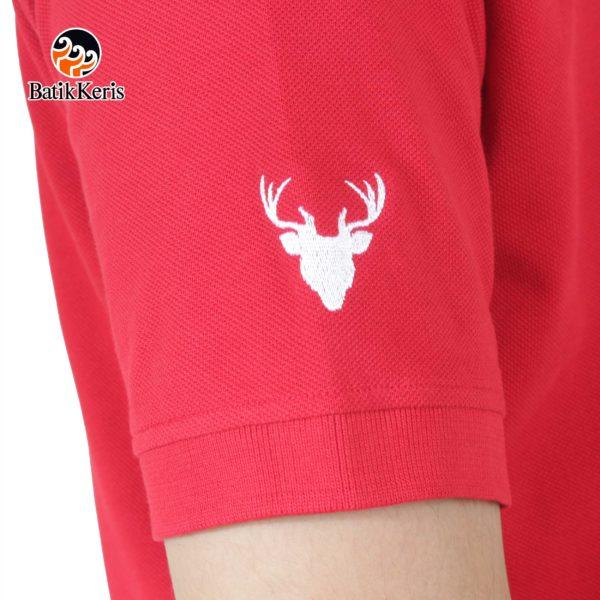 polo shirt kepala rusa
