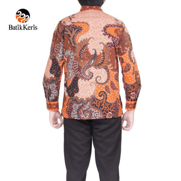 kemeja formal lengan panjang batik keris motif mulyo kinasih