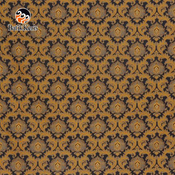 bahan batik motif bunga teratai