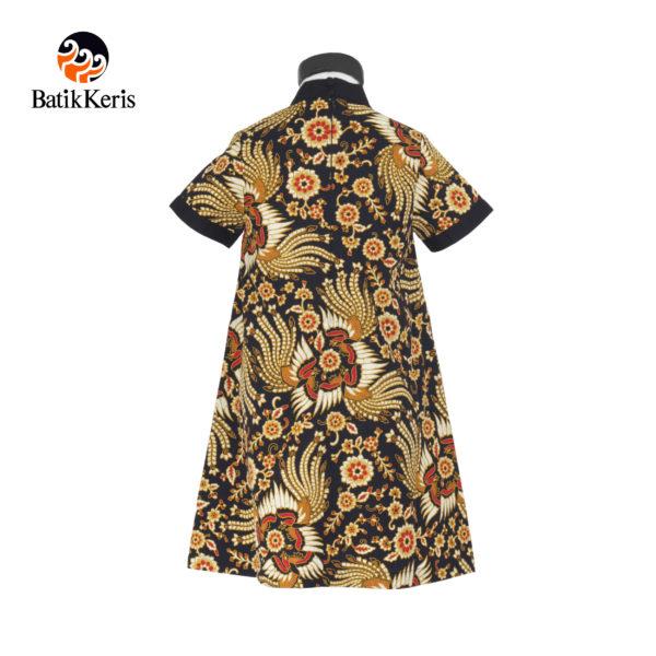 rok terusan anak batik keris motif kukilo selaras kombinasi polos