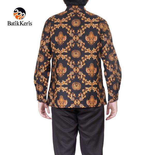 kemeja batik formal motif gurdo tumurun