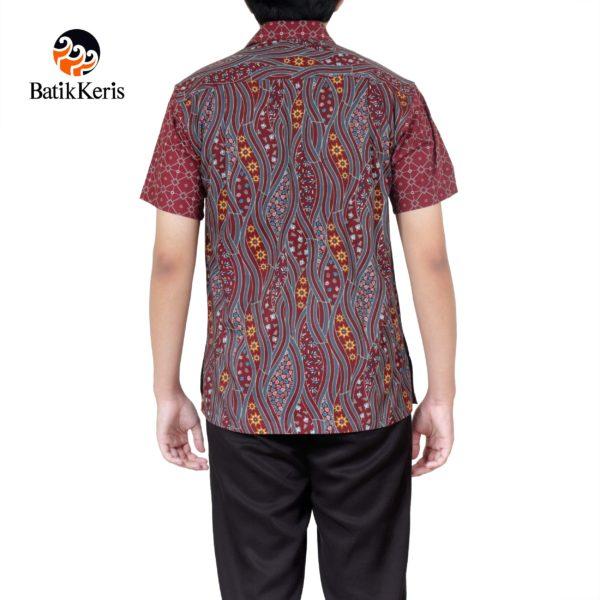 Daftar Harga Kemeja Santai Motif Puspo Sumulur Batik Keris Termurah ... d978bbe58f