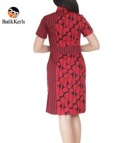 sackdress motif parang kombinasi garis