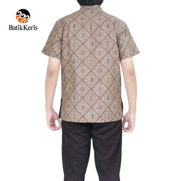 kemeja santai batik keris motif mukti langgeng