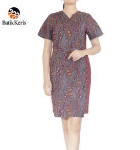 sackdress batik motif semulur katon kombinasi ceplik suminar
