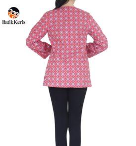 blouse lengan panjang motif telung kahuripan kombinasi