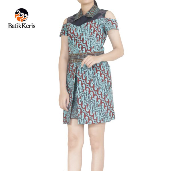 sackdress batik keris motif lereng kombinasi